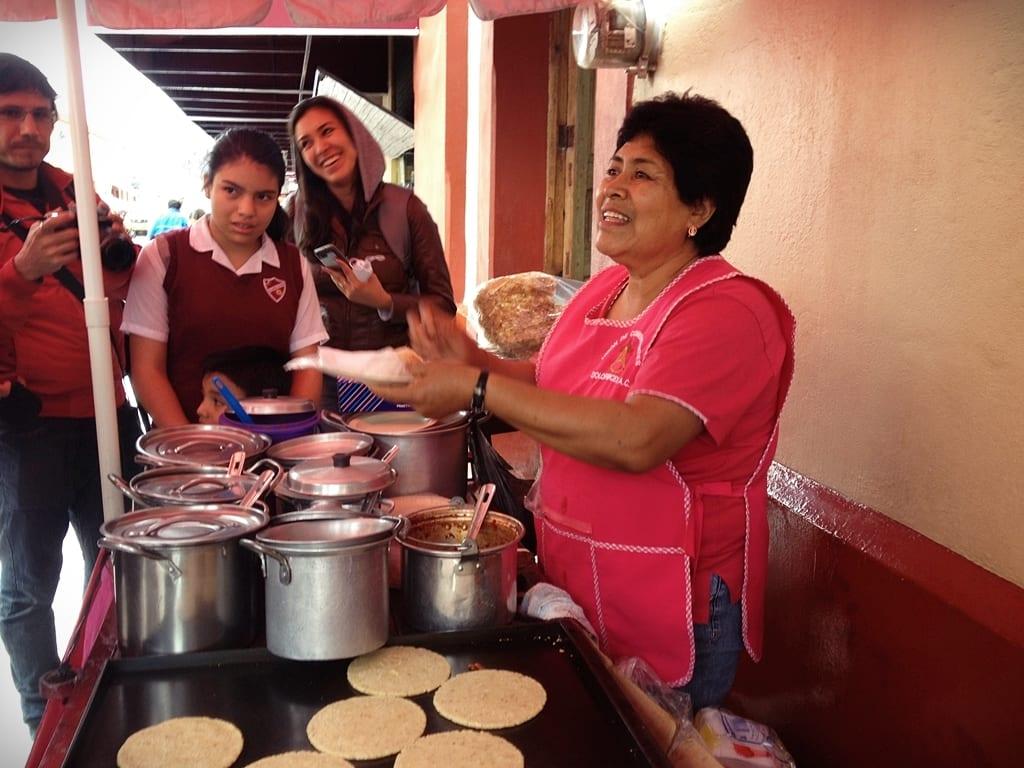 Puestos de comida, Dolores Hidalgo, México