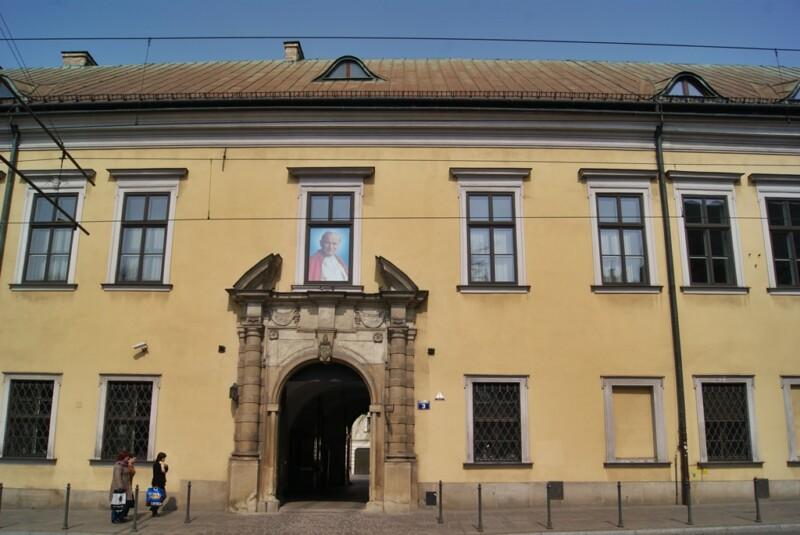 Cracovia, palacio del Arzobispado