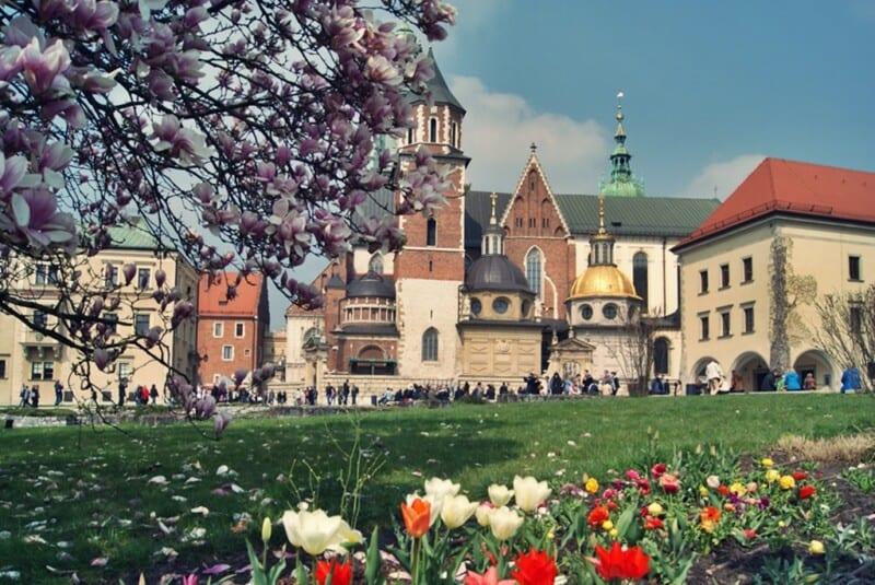 Cracovia, colina Wawel