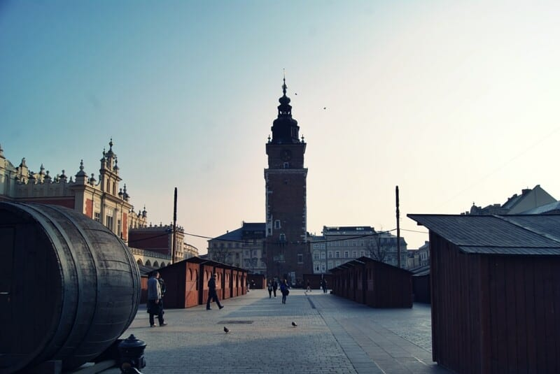 Cracovia, plaza del Mercado