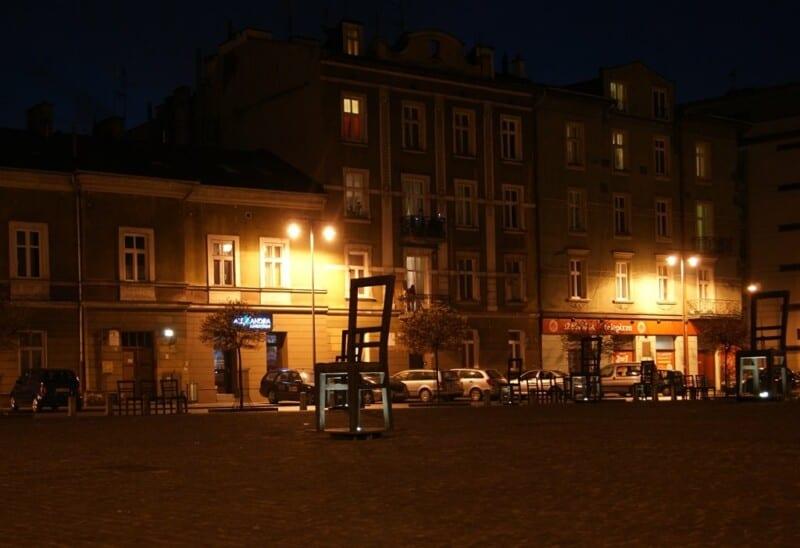 Cracovia, plaza de los Héroes de Polanski