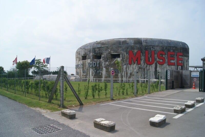 Búker museo en Norte Paso de Calais