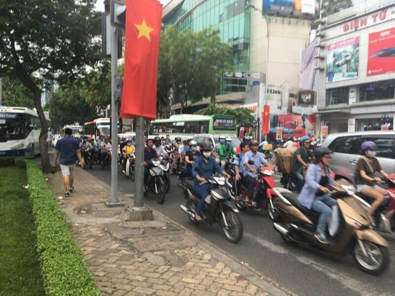 Tráfico Ho Chi Minh