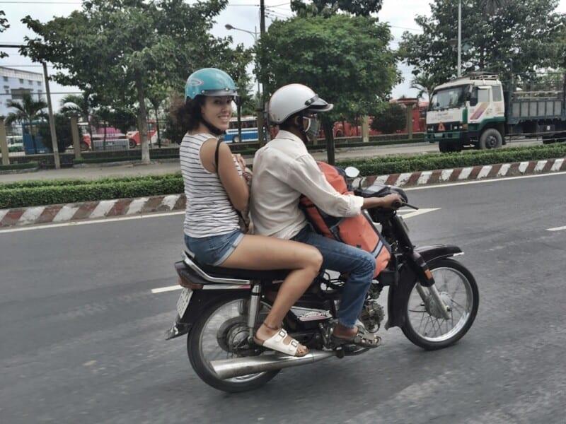 Moto taxi, Vietnam